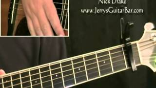 how to play nick drake from the morning (intro only)