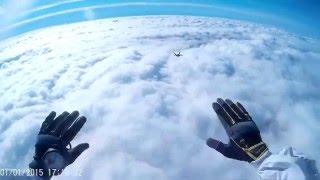 skydive lodi. dive through the clouds