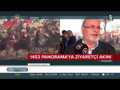 İstanbul'un fethi '1453 Panorama Müzesi'nde yaşatılıyor