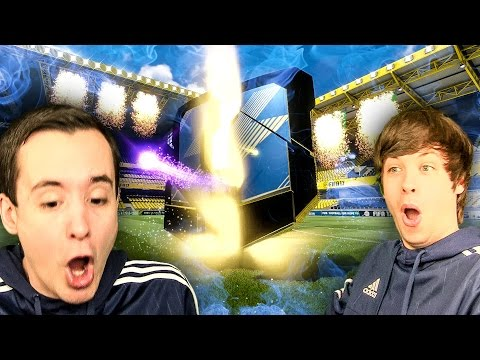 JUST WATCH! IT'S A WALKOUT PARTY HAHA - FIFA 17 BPL TOTS PACK OPENING