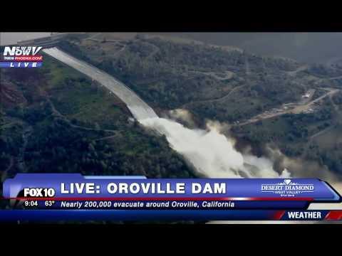 FNN Livestream 2/13/17: Oroville Dam Coverage, Uranium Found in AZ  Garage, Trump and Trudeau