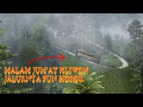 MALAM JUM'AT KLIWON MASUK JALUR HOROR : ETS2 MOD INDONESIA