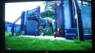 T-rexovo namutovaný bráška (Indominus-rex)(pravé dinosauří příběhy 2)