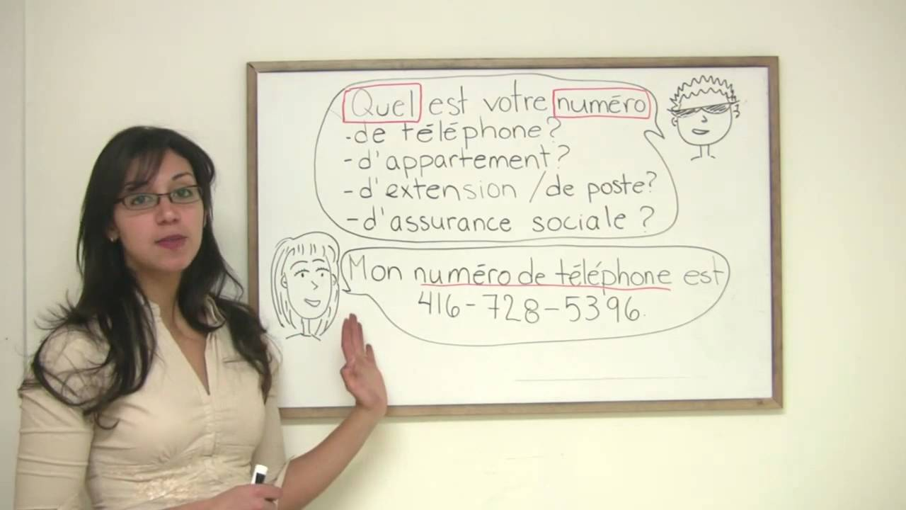 French for Beginners - How to Ask for Phone Numbers in French