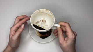 О ЧЕМ ОН ХОЧЕТ СКАЗАТЬ ВАМ гадание на кофейной гуще онлайн его мысли что в голове что думает о вас