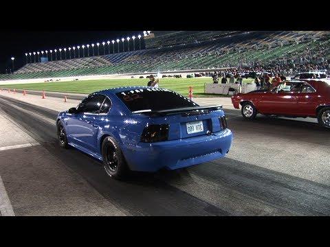 STREET CAR Racing at NASCAR TRACK - Kansas Speedway