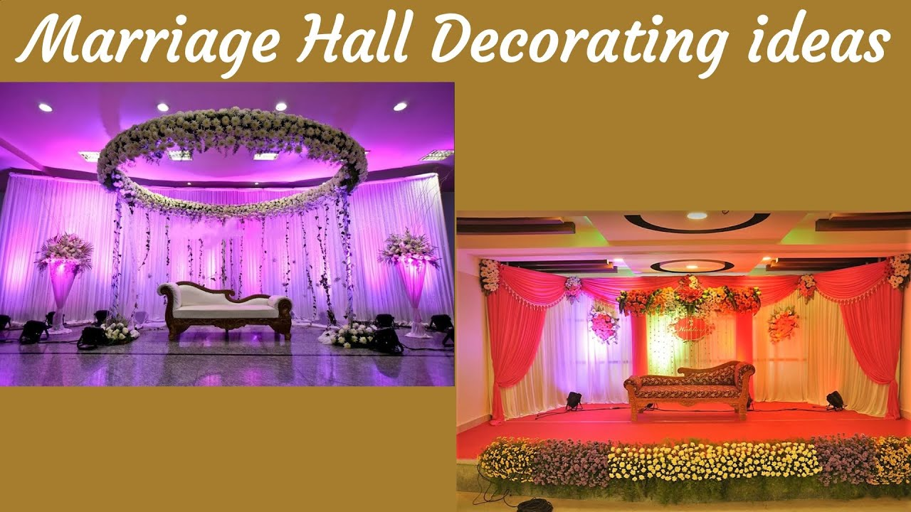 Marriage Hall Decorating ideas