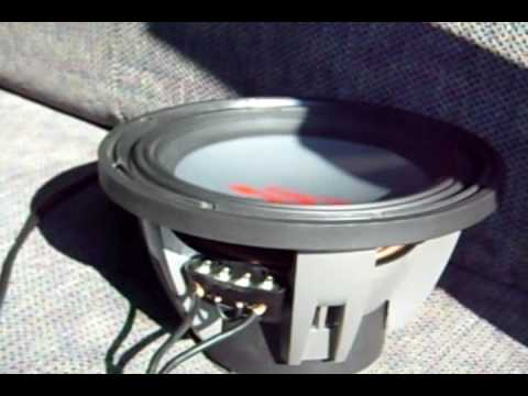 4 2ohm Speaker Wiring Diagram 12 Alpine Swr 1222d Freeair Abuse Youtube