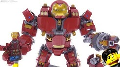 LEGO Marvel Avengers Hulkbuster Ultron Edition review! 76105
