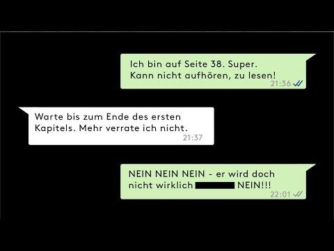 Drei YouTube Hörbuch Trailer auf Deutsch