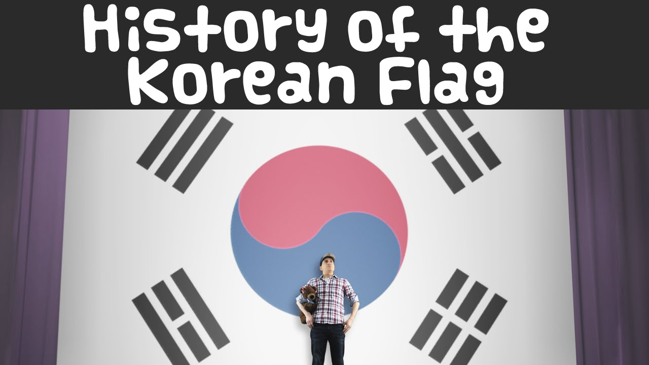 History of the korean flag history of the korean flag youtube biocorpaavc Image collections