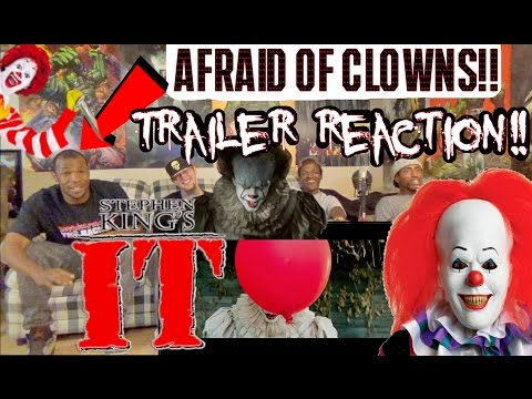 Coulrophobic Tricked Into Reacting to IT Official Teaser Tra
