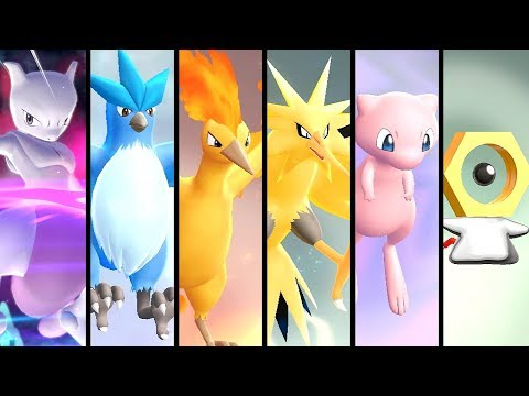 How to Get All Legendary Pokémon in Pokémon Lets Go Pikachu & Eevee