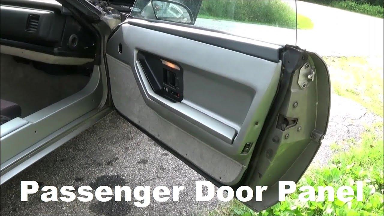 Video 18 1985 C4 Corvette Door Panel Install Passenger Side Door Panel Youtube