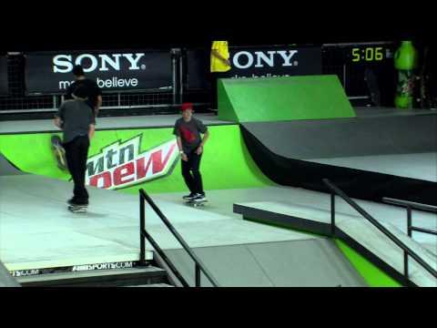 Dew Tour - ENTIRE Final Jam Session - Vegas Skateboard Street Finals - Ryan Decenzo, Greg Lutzka