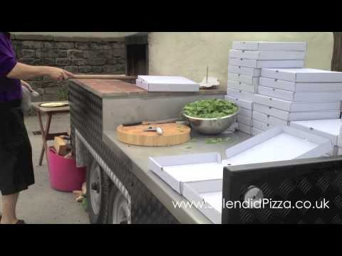 Authentic Wood Burning Pizza Ovens And Oven Trailer For