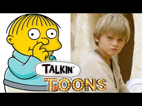 Nancy Cartwright Voices Ralphie Wiggum as Young Anakin Talkin' Toons w Rob Paulsen