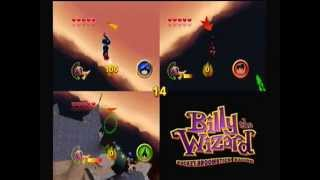 Billy the Wizard Rocket Broomstick Racing - We're the Best Harry Potters