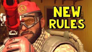 Rainbow Six Siege | New Rules