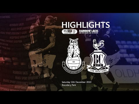 Oldham Bradford Goals And Highlights