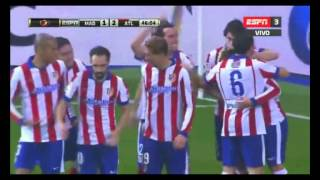 Real madrid 2 - 2 Atletico madrid Copa del Rey 2015 - Directv sports