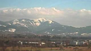 Lysá hora 28.3.2009, Beskydy / time lapse video