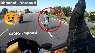 Escaped From An Accident ☹️ - Chennai To Yercaud In Duke 250 | Tamil | Drone Shots | Enowaytion Plus