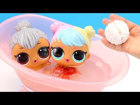 Мультики для детей КАК МАМА Играла с Куклами Лол Игрушки Игры для девочек 108мама тв