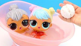 Мультики для детеи КАК МАМА Играла с Куклами Лол Игрушки Игры для девочек 108мама тв