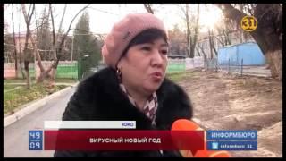 вирусная инфекция подпортила казахстанцам Новый год