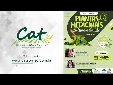 Projeto Cultivando Vida Sustentável - Plantas Medicinais Cultivo e Saúde - #PARTEII