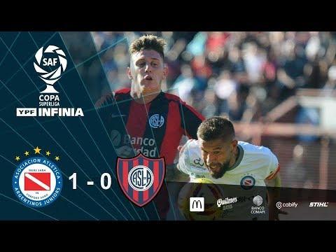 #CopaSuperliga: resumen de Argentinos Juniors - San Lorenzo