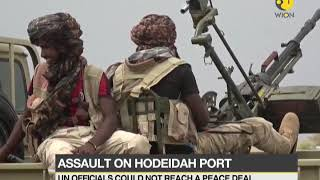 Crucial battle for Yemen: UAE navy shelling Houthi operation from sea