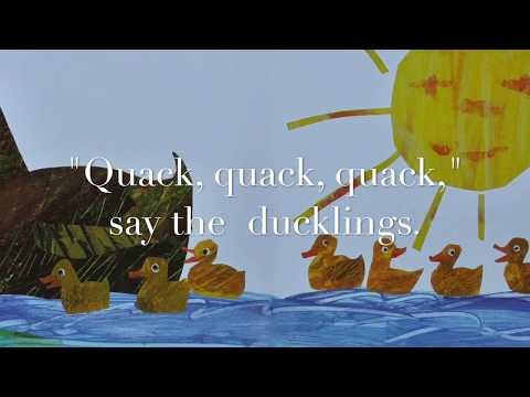 10 Little Rubber Ducks w Words, EFX & Music