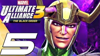 Marvel Ultimate Alliance 3 - Gameplay Walkthrough Part 5 - Loki & Ghost Rider (Full Game) Switch