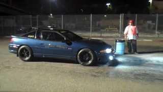 Mitsubishi Eclipse GSX Garrett GT3776 Turbocharger Drag Race