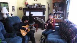 """Greeeen """"Kiseki"""" """"キセキ"""" Cover (Piano,Violin,Guitar)"""