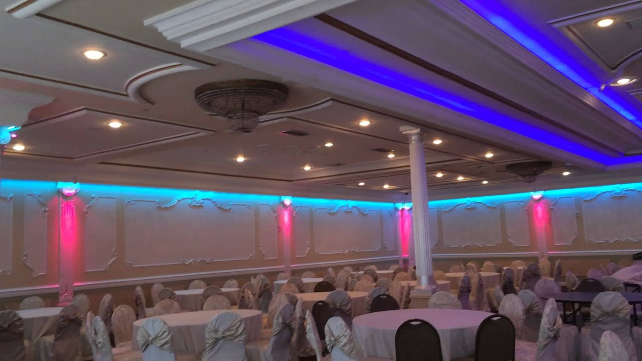 Led Lighting Design Van Nuys Ca Grand Banquet Hall