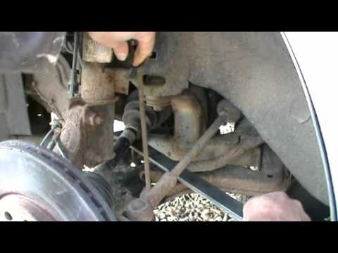 Replacing the antiroll bar links on a Vauxhall Vectra B or Opel  YouTube