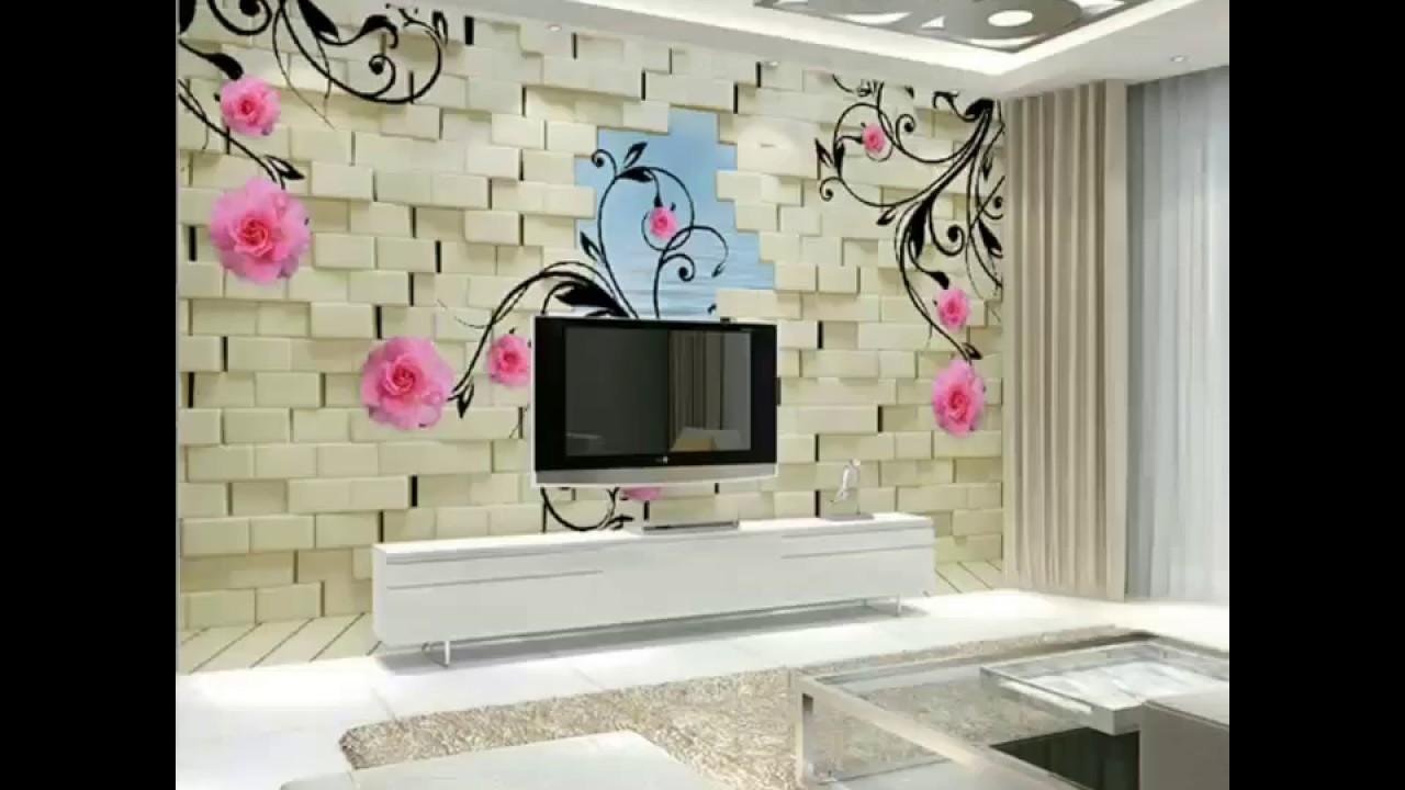 3d Landscape Wallpaper T V Units Wallpaper Design 2