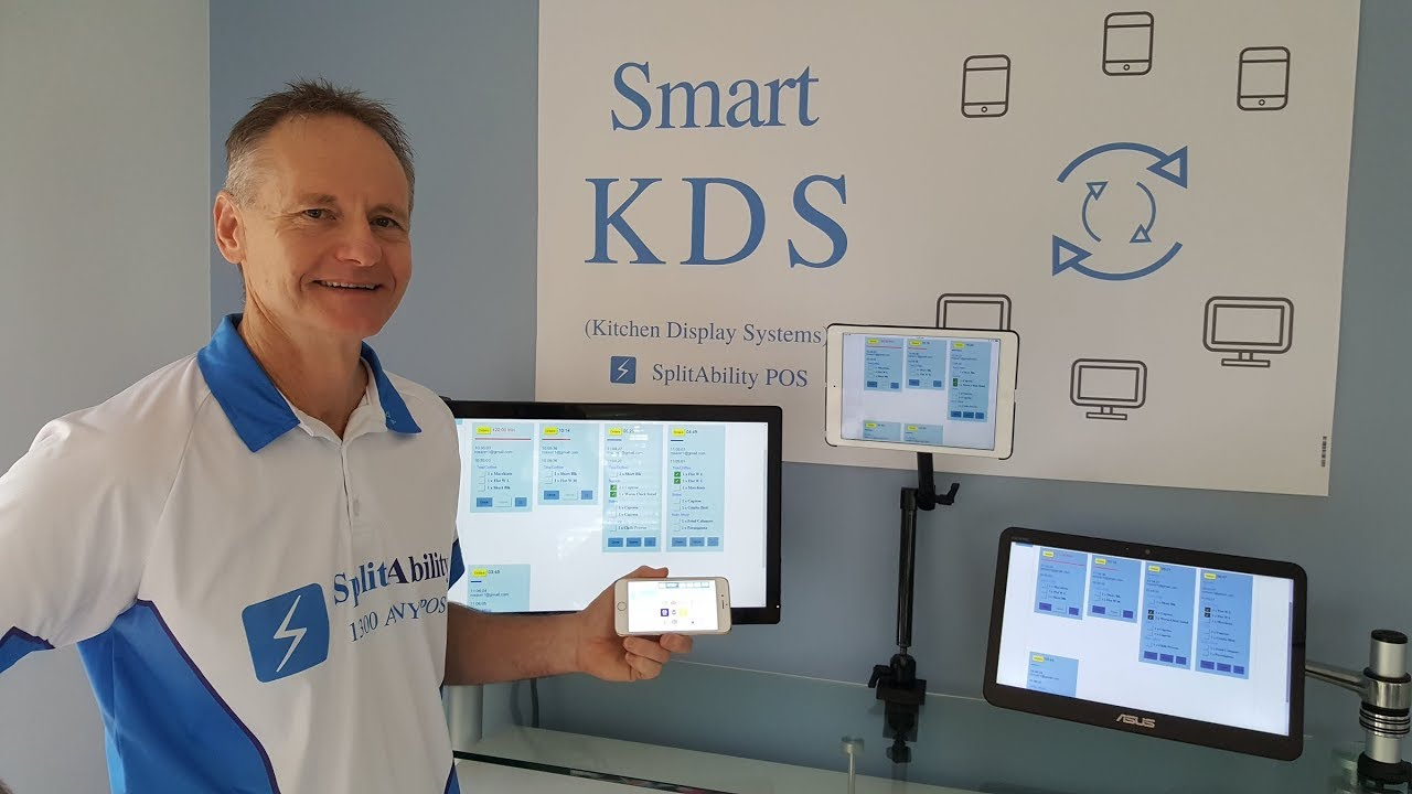 Pos Kitchen Display System Smart Kds Youtube