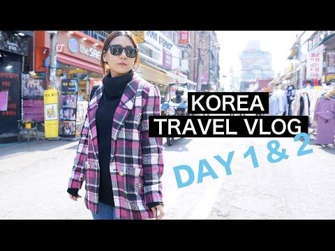 Korea Travel Vlog 2016   Day 1 & 2,  Soraksan, Everland, Nami Island,
