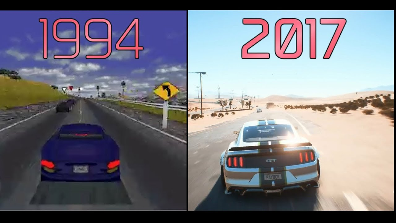 Evolution Of Need For Speed 1994 Vs 2017