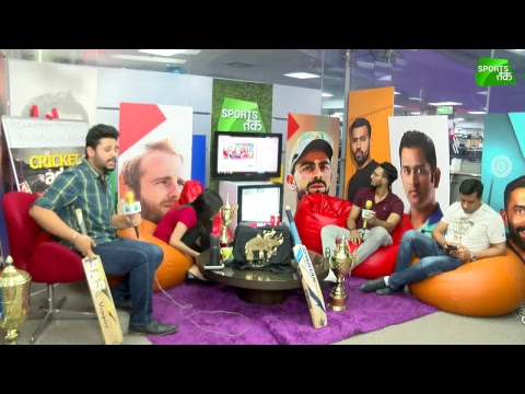 #CricketAdda: Day 43: Kolkata Eye Playoff Birth Against Hyderabad | Sports Tak