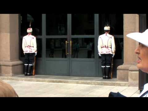 Changing of the Guards, President's Residence, Sofia, Bulgaria