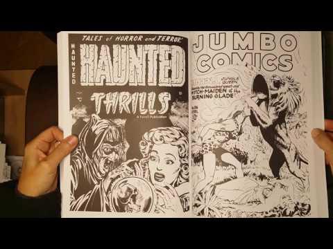 The Classic Comic Colouring Book. Blädderfilm