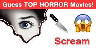 Can You Guess Top Horror Movies in This Hollywood Emoji Challenge