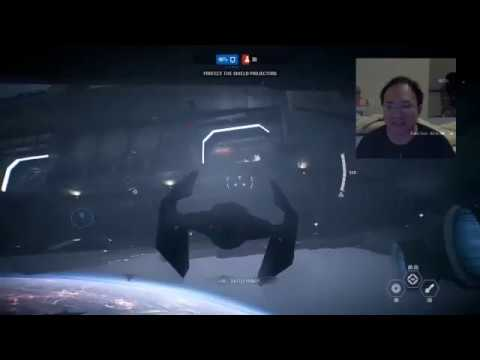 Star Wars BF II - Gameplay with Live Chat Q&A