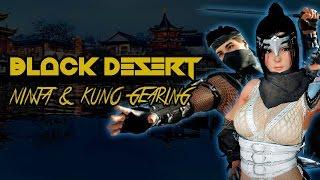 Black Desert | Ninja & Kunoichi Gearing