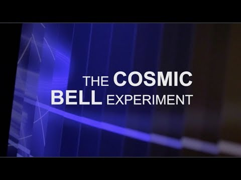 Cosmic Bell Experiment